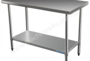 Brayco 2448 Flat Top Stainless Steel Bench (610mmW