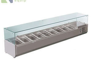 BAIN MARIE, 9 X 1/3 GN TRAYS NOT INCLUDED VRX-2000