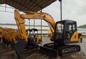All new 2020 Yuchai YC85-9 Excavator 8.5ton