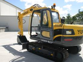 Yuchai YC85-8 Excavator 8ton with Kubota engine - picture5' - Click to enlarge