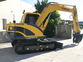 Yuchai YC85-8 Excavator 8ton with Kubota engine - picture8' - Click to enlarge
