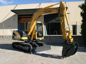 Yuchai YC85-8 Excavator 8ton with Kubota engine - picture14' - Click to enlarge