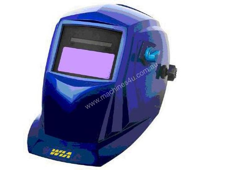 WIA Blue Automatic Welding Helmet, Shade 9-13