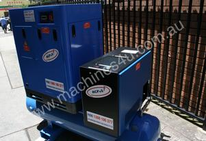 Sale - 10hp 7.5kW Rotary Screw Air Compressor Pack
