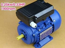 0.25kw/0.33HP 1400rpm 14mmshaft motor single-phase - picture0' - Click to enlarge