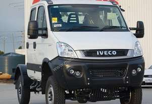 2014 Iveco Daily 55S17W 4x4 Dual Cab Chassis
