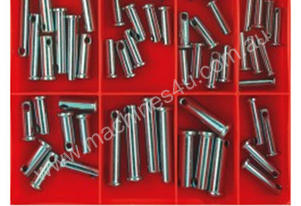 ASSORTMENT CLEVIS PIN 52 PCS 9 SIZES