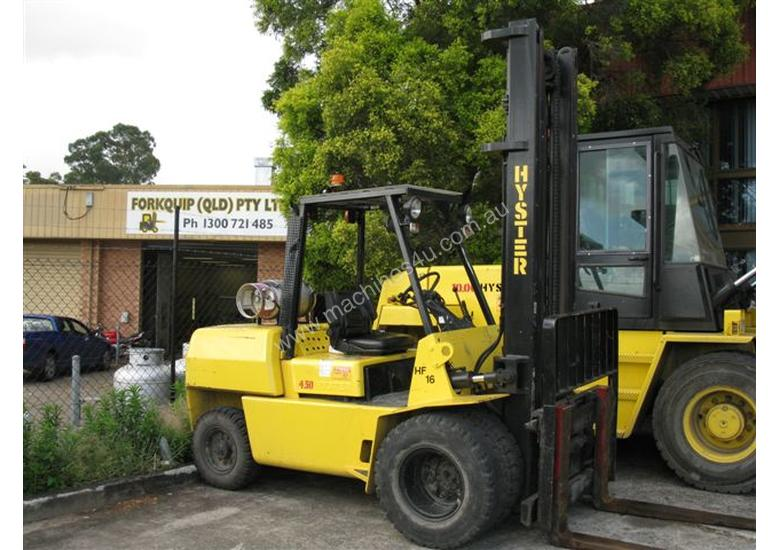 Hyster H4.50XL 4.5 Ton,  L.P.G 2 Stage 3750mm Mast