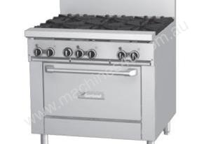 Garland GF36-G36R Gas Range with Flame Failure Protection Griddle and Standard Oven