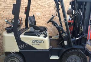 CROWN , CG25P, CONTAINER MAST LPG FORKLIFT