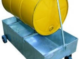 Trolley Drum Storage Spill Bin - picture0' - Click to enlarge