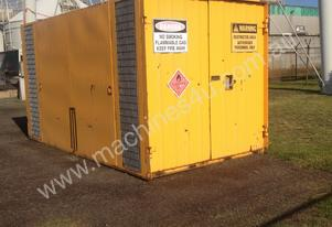 flammable gas container