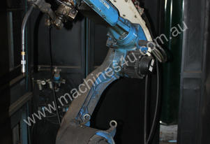 2001 Motoman UP6 XRC robotic mig welding cell