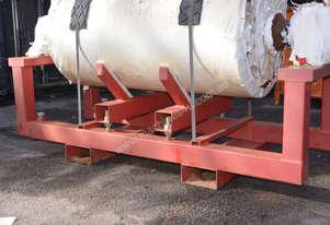 Adjustable lifting and transport frame for Conveyor