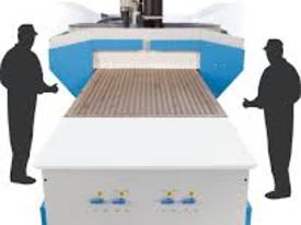 Flatbed CNC Masterwood  2450 x 1250 With Push Off Device - picture2' - Click to enlarge