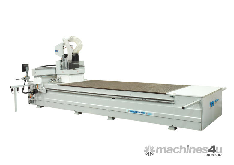 Masterwood  2450x1250 Flatbed with Push off Device
