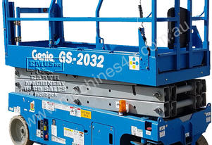 6.1mtr Genie GS2032 EWP with Trailer