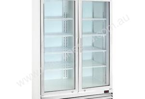 NEW THERMASTER COMMERCIAL 2 DOOR DISPLAY FRIDGE