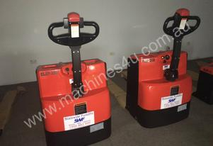 New Electric Powered Pedestrian Pallet Jacks