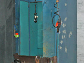 Powder coat coating booth Recovery Cabinet Abrasiv - picture1' - Click to enlarge