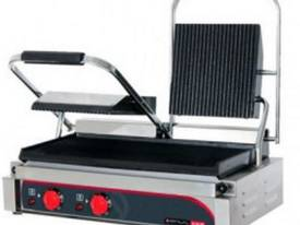 Double Head Panini Press - picture0' - Click to enlarge
