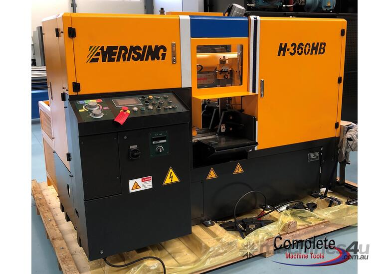 EVERISING H-360HB | FULLY AUTOMATIC | NC CONTROL | ENCLOSED | 360MM DIA CAPACITY BAND SAW