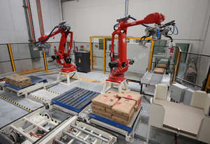 Robotic Palletising Machinery
