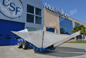 Multione Olive Harvester - Almond Nut Harvester - Loader