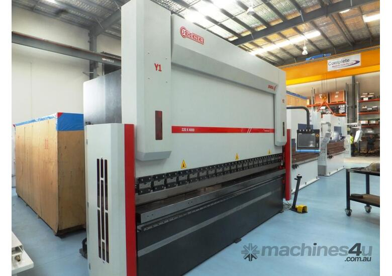 DENER  EUROPEAN 220T | 4100MM CNC PRESS BRAKE - 7 AXIS | 3D CONTROLLER | HEAVY DUTY