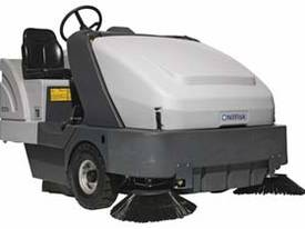Nilfisk SR1601 Ride-On Industrial Sweeper LPG & Di - picture0' - Click to enlarge