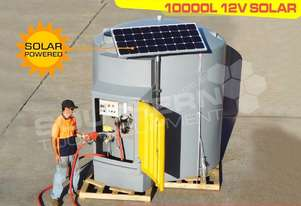 10,000L Self Bunded Diesel Station 12v solar panel