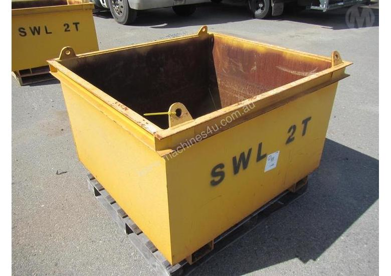 Used Custom Bins & Containers for sale - Custom Cage Lifting Cage SWL ...
