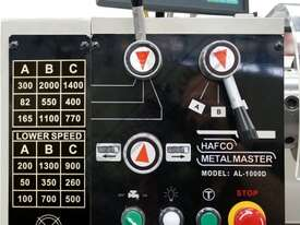 AL-1000D Centre Lathe 356 x 1000mm Turning Capacity - 40mm Spindle Bore Includes Digital Readout - picture4' - Click to enlarge