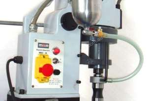 Magnetic Base Drill Press with Broaching Chuck