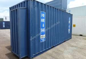 SHIPPING CONTAINER - PIPE BOX 20' Container – Exce