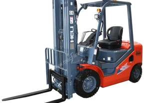 The Highly rated Heli H3 Series diesel forklift