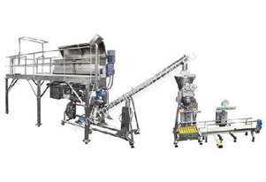 Powder Blending and Bulk Packaging System