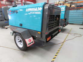 AIRMAN PDS185S-6C2-T 185cfm Trailer mounted Portable Diesel Air Compressor - picture3' - Click to enlarge