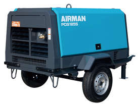 AIRMAN PDS185S-6C2-T 185cfm Trailer mounted Portable Diesel Air Compressor - picture15' - Click to enlarge