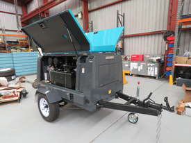 AIRMAN PDS185S-6C2-T 185cfm Trailer mounted Portable Diesel Air Compressor - picture4' - Click to enlarge