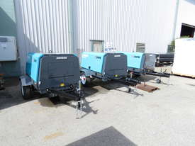 AIRMAN PDS185S-6C2-T 185cfm Trailer mounted Portable Diesel Air Compressor - picture14' - Click to enlarge