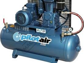 K25/21 Industrial Air Compressor 150 Litre / 5.5hp 20.5cfm / 581lpm Displacement - picture0' - Click to enlarge