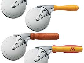 Rockler Stainless Steel Pizza Cutter Turning Kit with Chrome Finish - picture2' - Click to enlarge