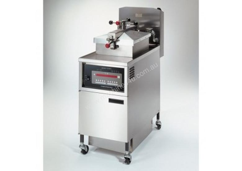 PFE 500 with 8000 Computron Control Four Head Pressure Fryer