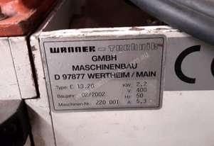 Wanner-Technik C13  20 Granulator Miscellaneous Parts