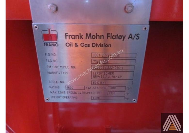 2007 FRAMO FIRE WATER SYSTEM
