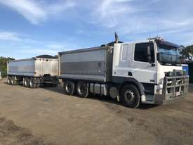 1 only 2007 Daf CF85 Tipper and 1 only 2007 Tefco Quad Dog Tipper - picture1' - Click to enlarge