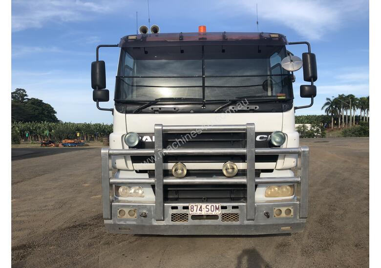 1 only 2007 Daf CF85 Tipper and 1 only 2007 Tefco Quad Dog Tipper