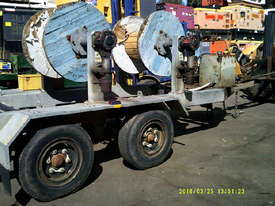 6ton tandem HD abc cable drum trailer 3 drum rewind - picture2' - Click to enlarge