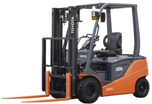 Toyota 1.0 - 3.0 Tonne 8FB 4-Wheel Battery Forklift